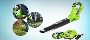 Best Cordless Leaf Blower, 2.0Ah Battery