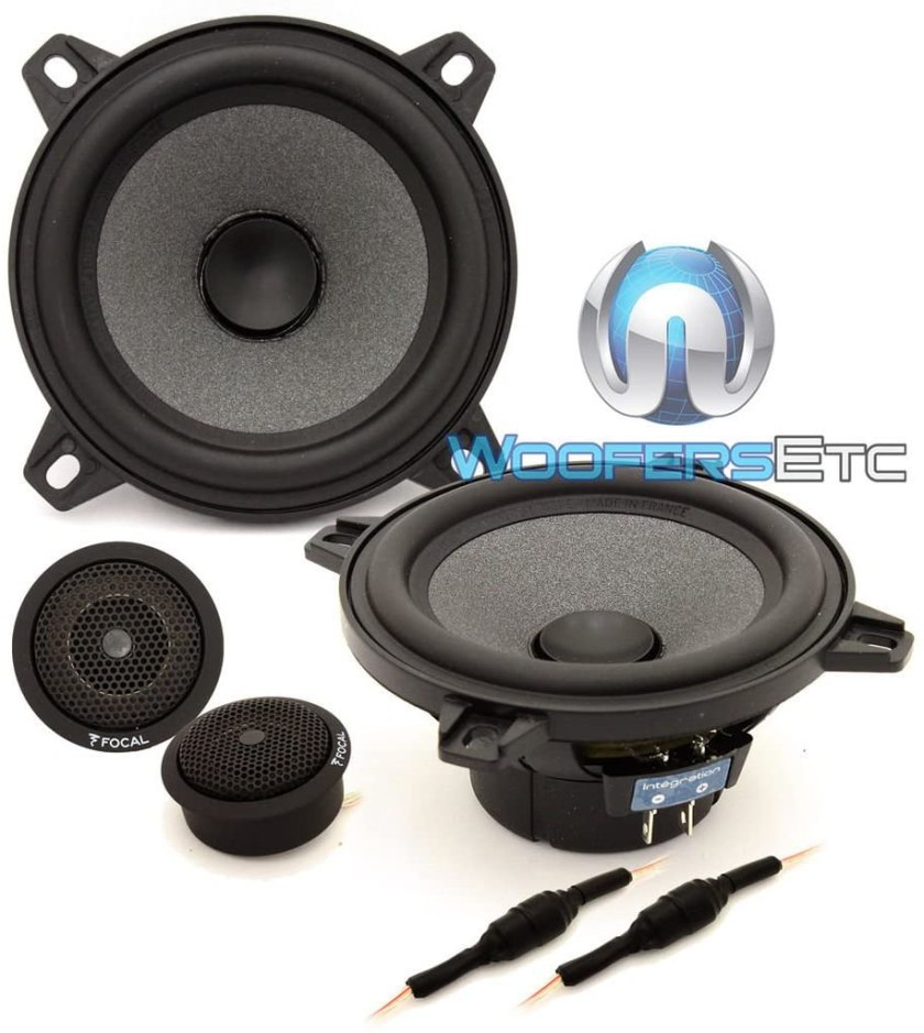 Best 4-Inch Component Car Speakers Focal ISN 100 4 inch Component Speakers