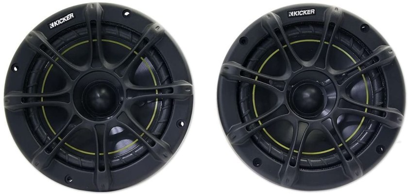 Best Car Speakers for Sound Quality and Bass Kicker DS65 6.5-inches Coax Speakers