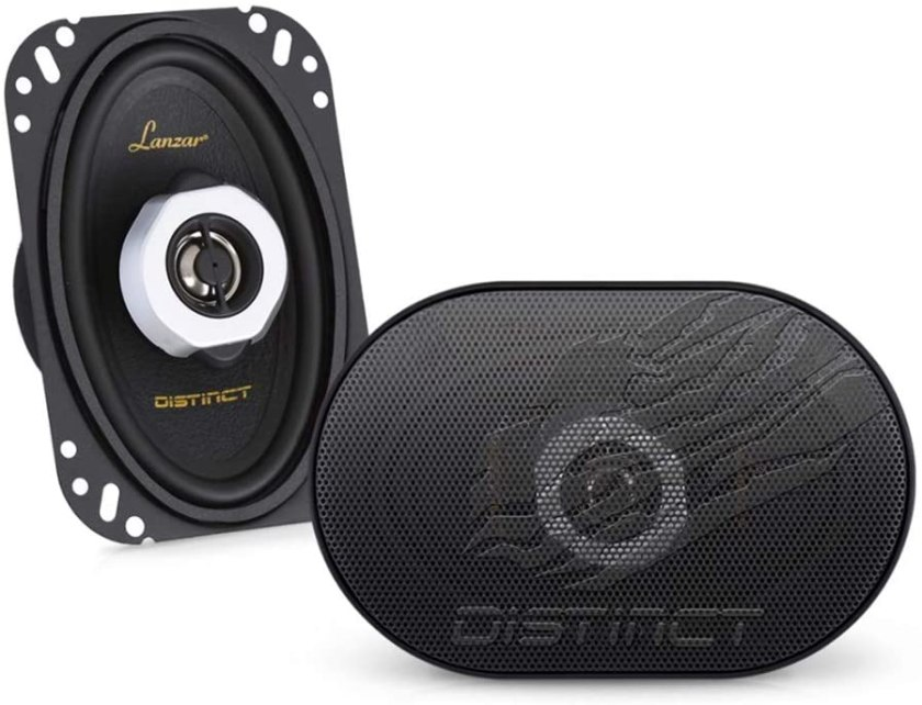 Best 4-Inch Component Car Speakers Lanzar Distinct 4 X 6 Inch Component Speaker