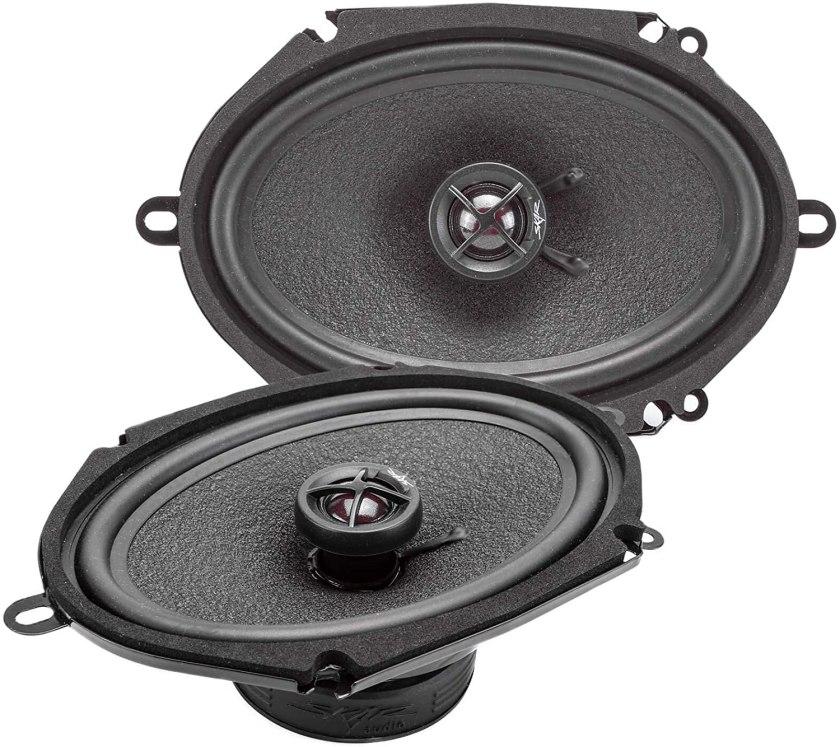 Skar Audio SK68 2-Way Coaxial Car Speakers
