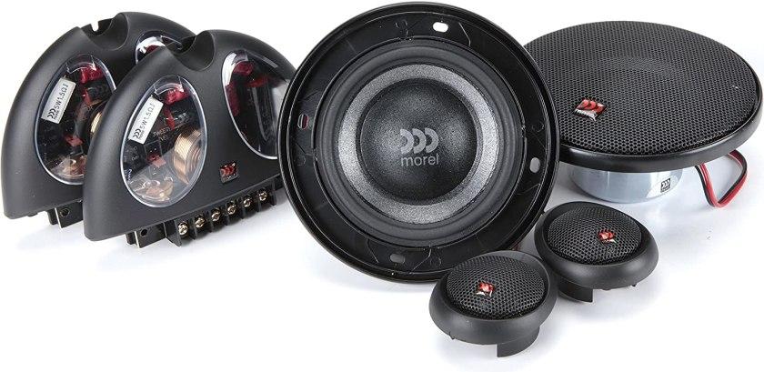 Best 4-Inch Component Car Speakers Virtus 402 4-inch Component Speaker