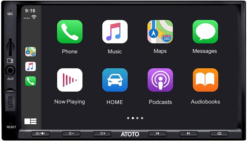 Best Double Din Head Unit Under $200 ATOTO Year Series Double Din Car Stereo
