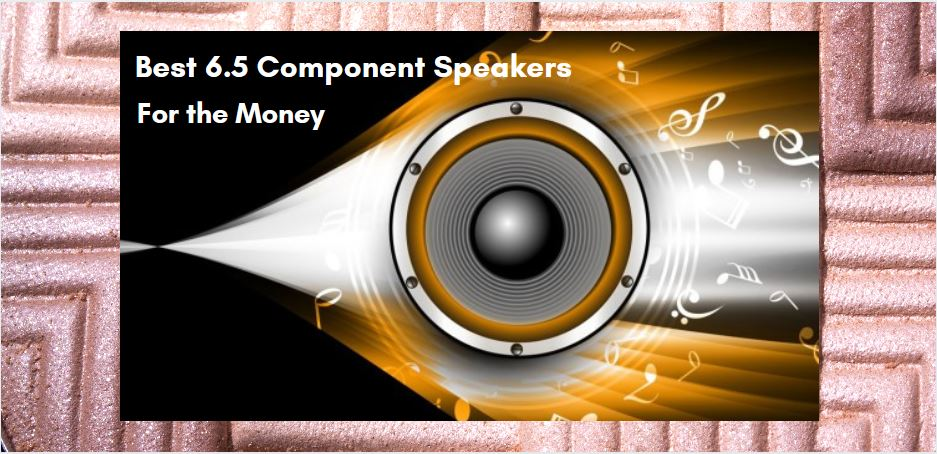 Best 6.5 Component Speakers For the Money