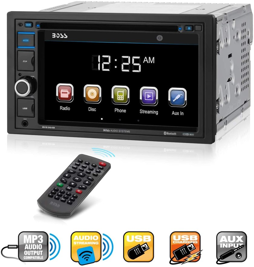 Boss Audio Systems BV9364B Car Stereo  Best Double Din With Backup Camera