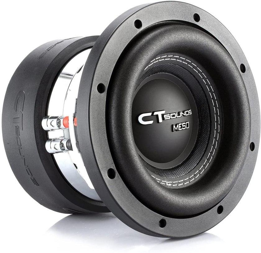 Best 8-inch Subwoofer Car Audio CT Sounds Meso Car Subwoofer
