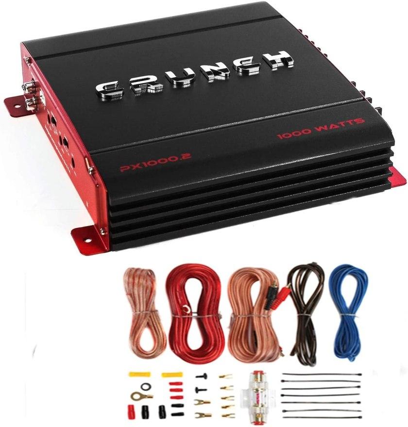 Crunch PX-1000.4 Car Audio Amplifier