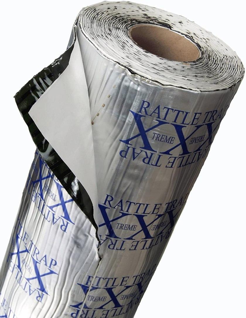 FatMat Self-Adhesive Rattletrap Sound Deadener Bulk Pack Best Sound Deadening Material for Cars