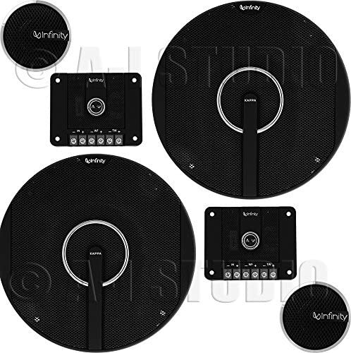 Best 6 3.4 Speakers Infinity Kappa 60.11CS Component Speaker