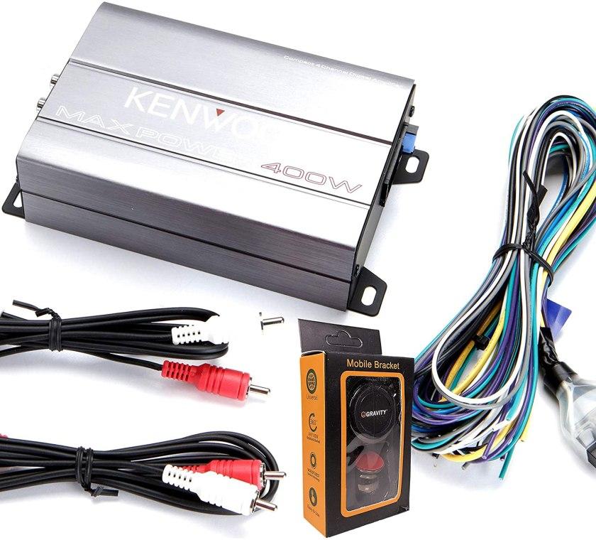 Kenwood 2156568 KAC-M1804 Amplifier Best 4 Channel Amplifiers Under $200