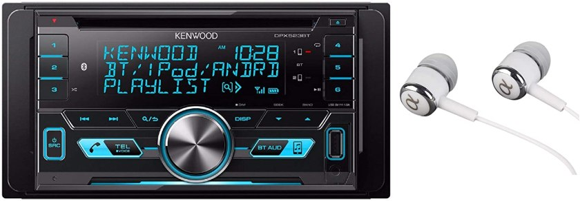 Kenwood CDMP3USB Double-DIN In-Dash Car Stereo  Best Double Din With Backup Camera