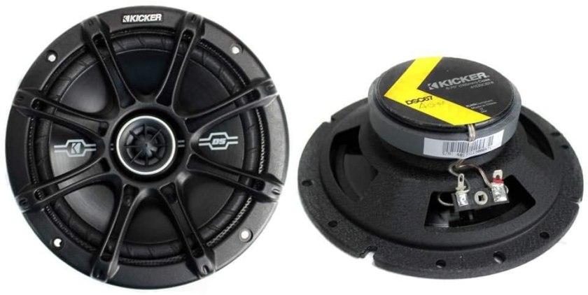 Best 6 3.4 Speakers Kicker 41DSC674 D-Series Coaxial Speakers