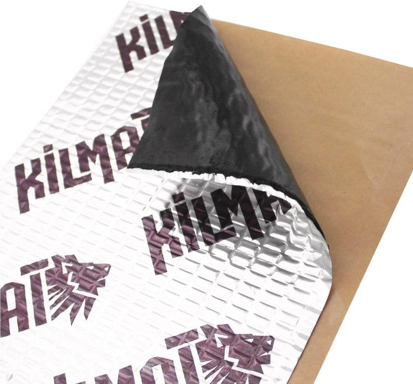 Best Sound Deadening Material for Cars Kilmat 50 mil 50 square foot vehicle Sound Deadening Mat