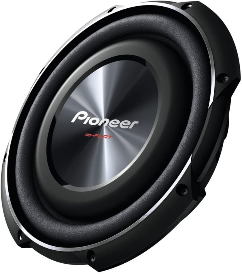 Best 10 Subwoofers For The Money PIONEER TS-SW2502S4 Shallow-Mount Subwoofer