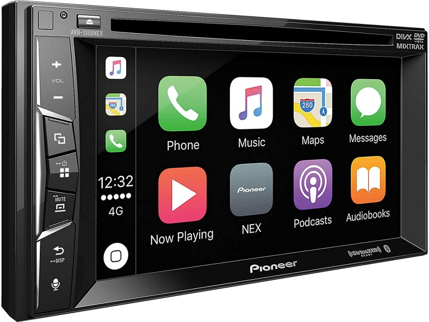 Pioneer AVH-1300NEX Multimedia DVD Receiver with 6.2 WVGA Display Best Buy Double Din Car Stereo