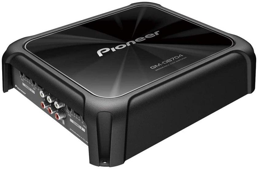 Best 4 Channel Car Amp for Sound Quality Pioneer GM-D8704 4-Channel Bridgeable Amplifier