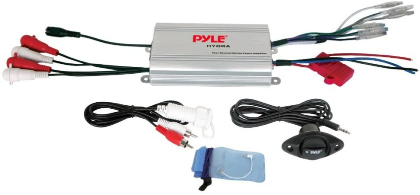 Pyle Hydra Marine Amplifier Best 4 Channel Amplifiers Under $200