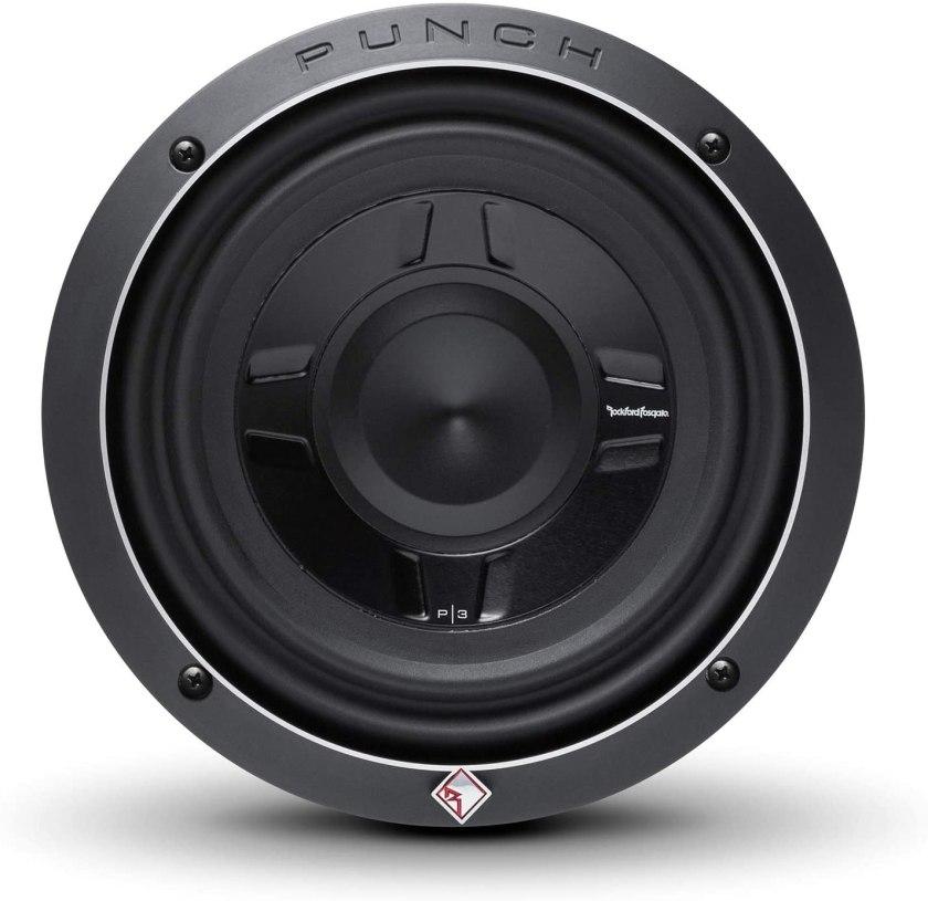 Best 8-inch Subwoofer Car Audio Rockford Fosgate P3SD2-8 Subwoofer