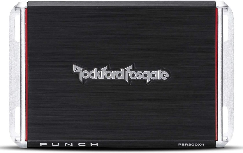Best 4 Channel Car Amp for Sound Quality Rockford Fosgate PBR300X4 4-Channel Amplifier