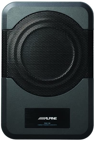 Alpine Electronics PWE-S8 Restyle Compact Powered Subwoofer
