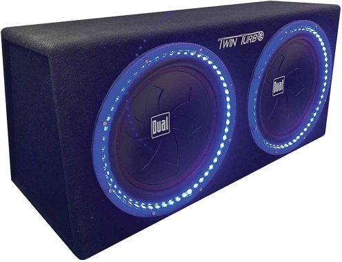 Best 12 Inch Subwoofers in the Market Dual Electronic SBX212i subwoofers