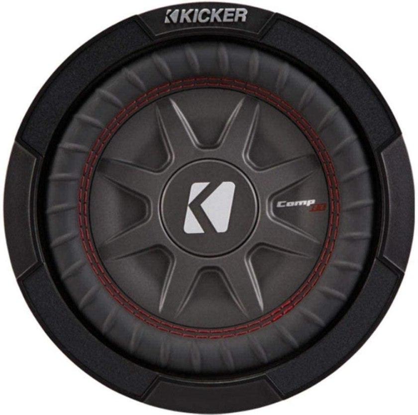 Kicker 8 Inch Dual 600 Watt CompR Best 8 Inch Free Air Subwoofer