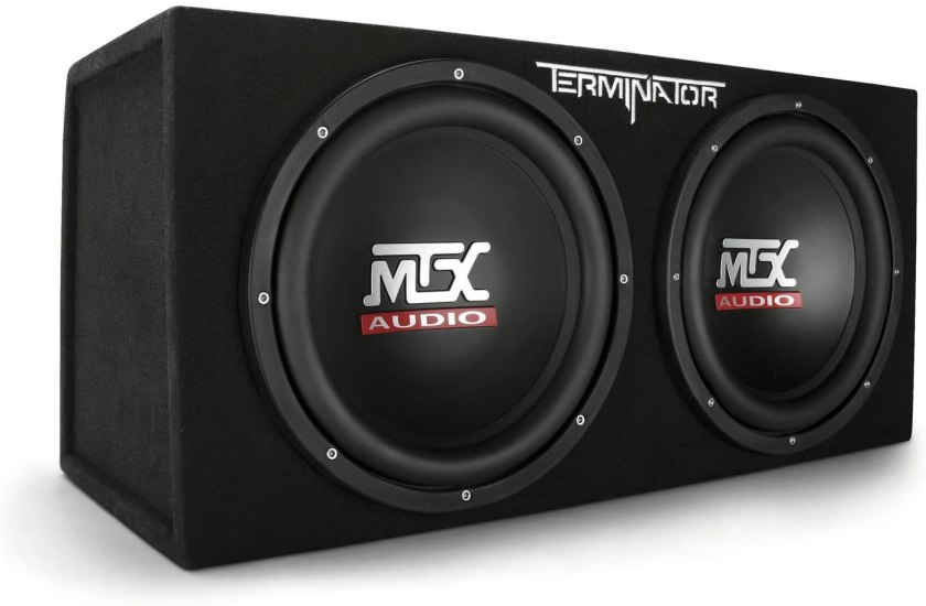 Best 12 Inch Subwoofers in the Market MTX TNE212D Subwoofer