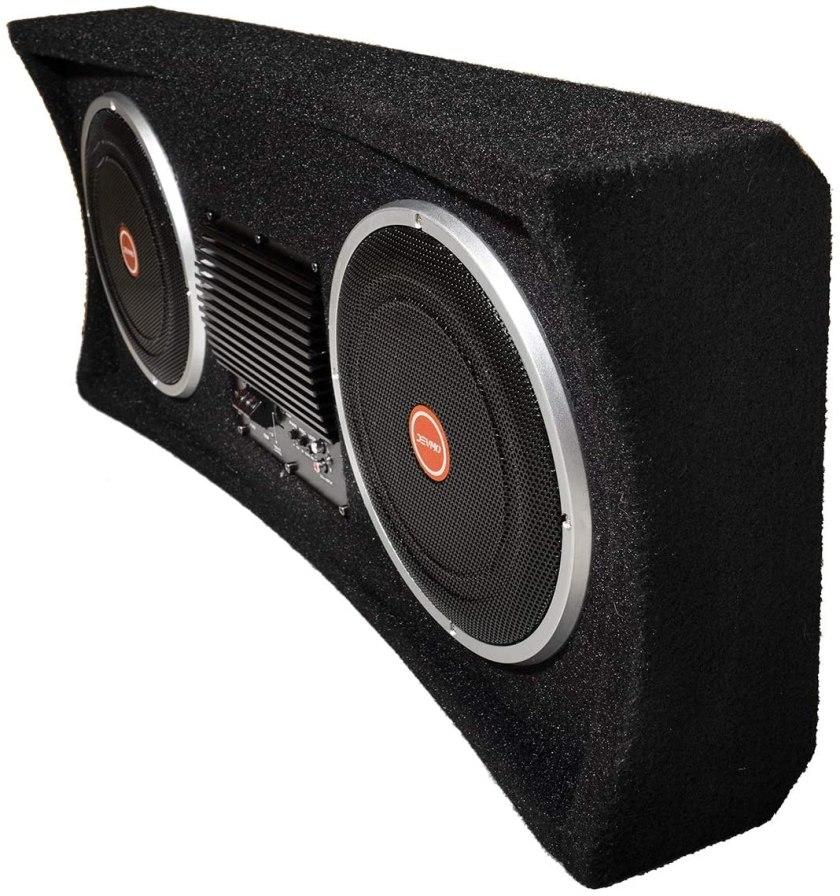 Best Sub And Amp Combo Best Buy, DEVMO Gemini II Dual with Power Amplifier