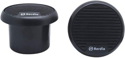 Best 3 inch Full Range Speaker, Herdio-3-Inch-Waterproof-Marine-Speakers