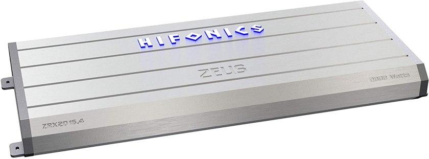 Hifonics ZRX1216. 2 Zeus Amplifier