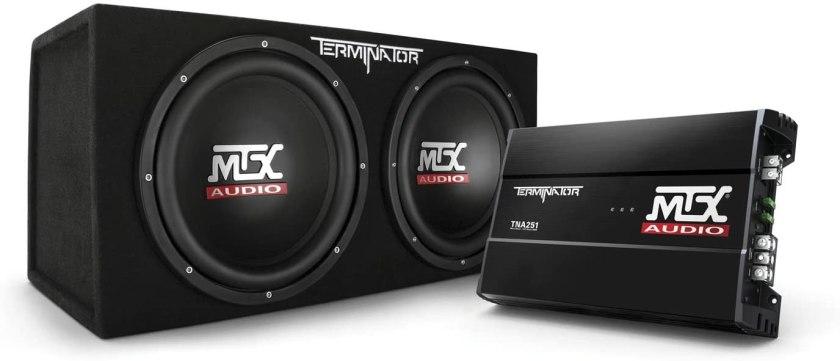 Best Sub And Amp Combo Best Buy, MTX Audio TNP212D2 Subwoofer