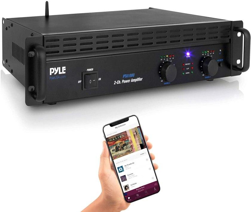Best 1000 Watt Amp for the Money, Pyle Pro Audio Amplifier