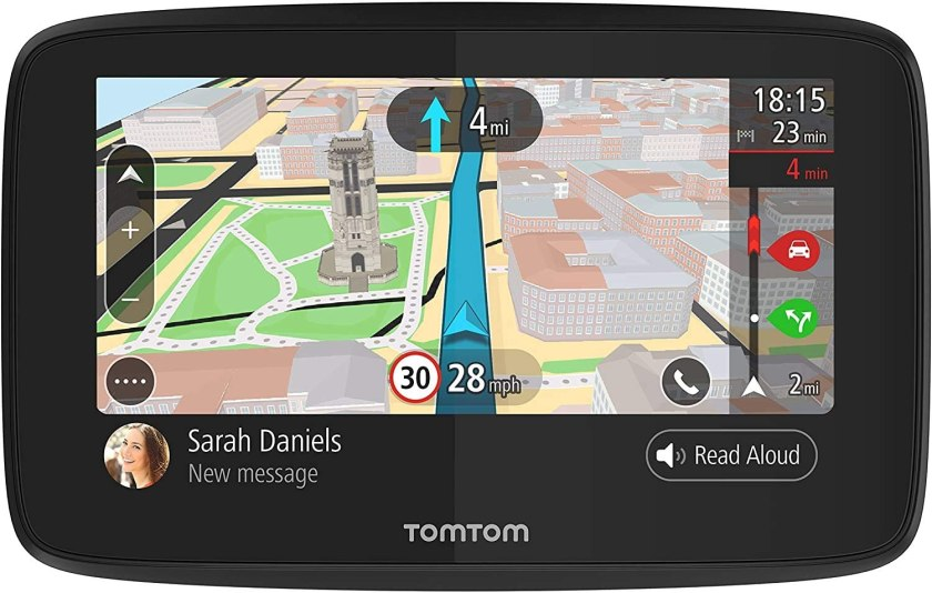 Best GPS for Car under $100, TomTom Go 520
