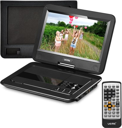 Best Portable DVD Player under $50, UEME Portable CD DVD Player