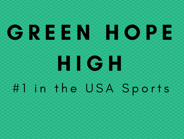 Green Hope High #1 in the country for Fall Sports