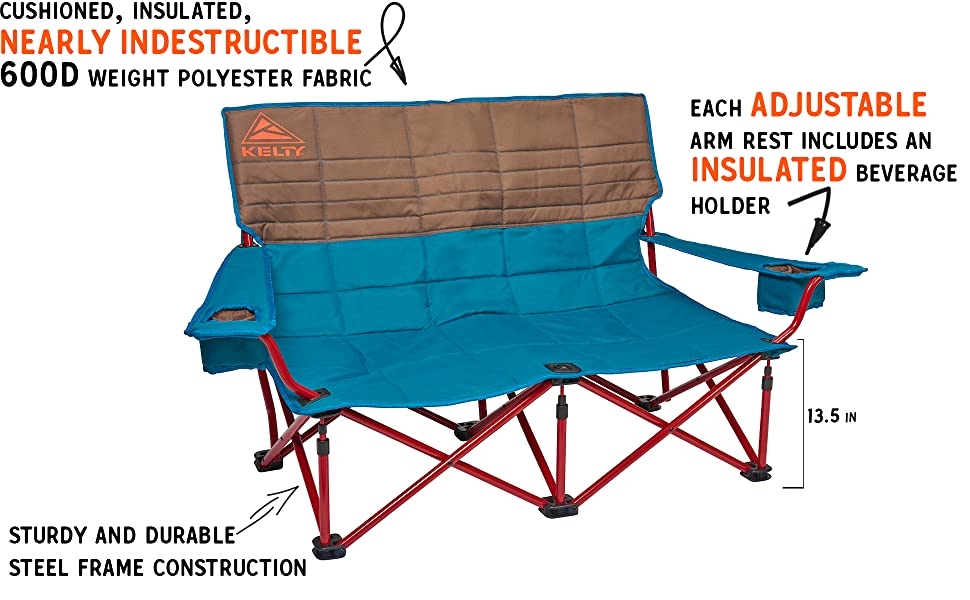 Kelty Low Loveseat Camping Chair 2