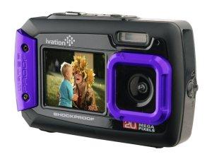 Ivation 20MP Underwater Shockproof Digital Camera
