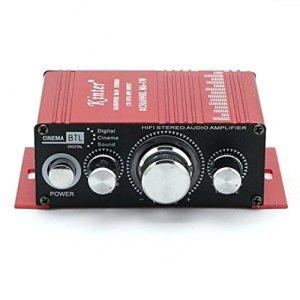 Kinter 12V 2 CH Mini Digital Audio Power Amplifier