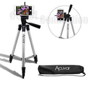 Acuvar 50 Inch Aluminum Camera Tripod