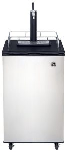 Igloo FRB200C 6 Cubic Feet Beer Kegerator with CO2 Tank and Kit