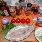 One ring cooking from Best China Info Sea bass with tomato in in avocado oil
