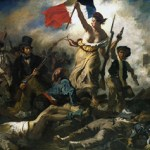 La Liberte leading the people by Delacroix