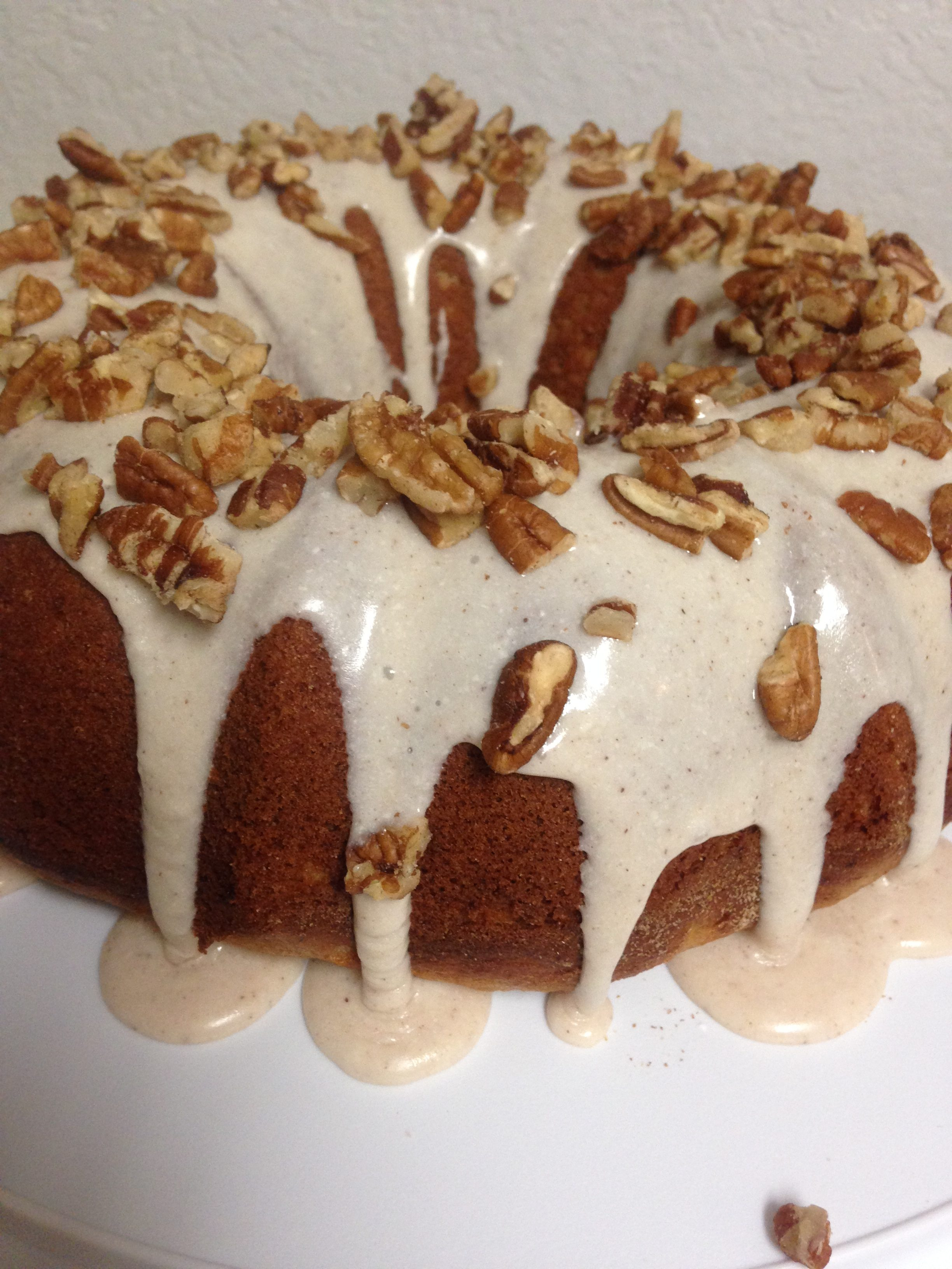 Banana Bread Bundt Cake With Cream Cheese Frosting Best