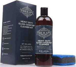 Therapy Premium Heavy Duty Stainless Steel Stove Top Cleaner for Grease & Stains