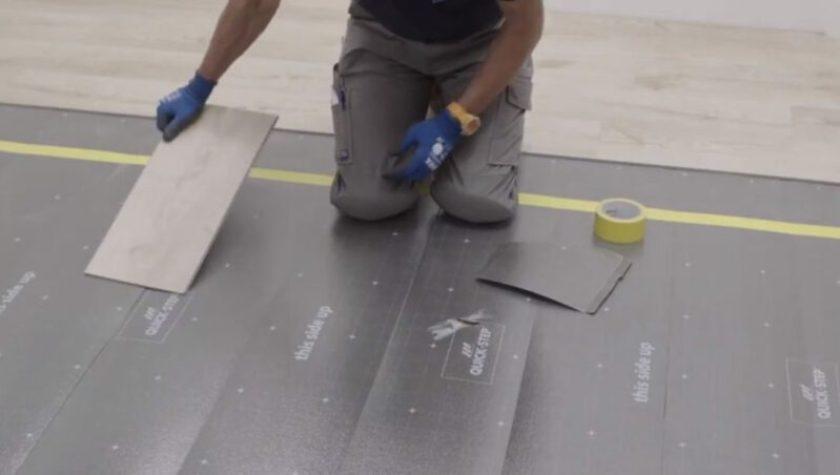 How to Install Underlayment for Vinyl Plank Flooring?