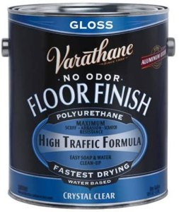 Varathane Water-Based Polyurethane Diamond Floor Finish for Hardwood Floors