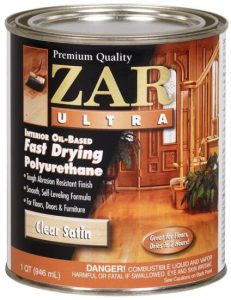 Zar Ultra Fast Drying Oil-Based Polyurethane Interior Wood Floor Finish