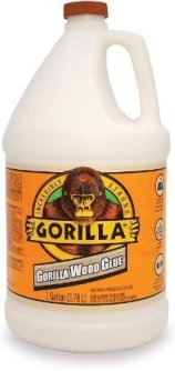Gorilla Wood Glue for Indoor Outdoor Woodworking & Carpentry - Strong wood glue