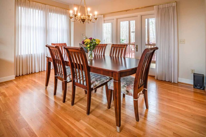 how to keep furniture from sliding on hardwood floors