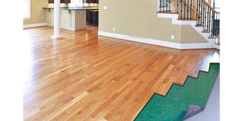 Best Engineered Wood and Laminate Flooring Underlayment